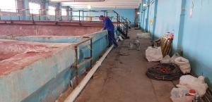 Гидроизоляция полимочевиной резервуаров на Челныводоканале 2018, 2019 год