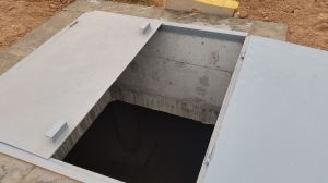 Гидроизоляция полимочевиной резервуара усреднителя ЧЕЛНЫ БРОЙЛЕР