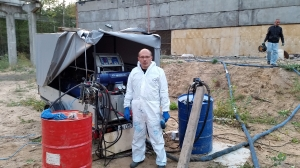 Гидроизоляция пожарных резервуаров на заводе АО