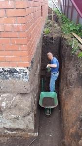 Утепление пенополиуретаном и гидроизоляция полимочевиной цокольного этажа частного дома в г. Набережные Челны